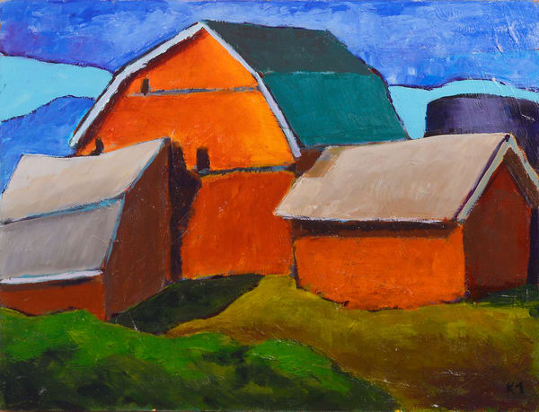 Perkinsfield Barn Art | Keith Thirgood