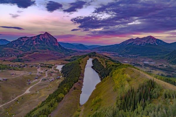 Long Lake Sunset Photography Art | Alex Nueschaefer Photography