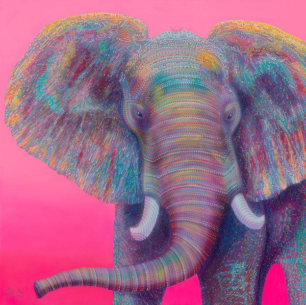 elephant, pink-elephant, interior-decor, home-decor, pop-art