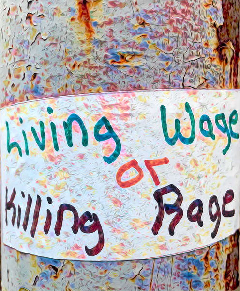 Living Wage or Killing Rage|Fine Art Photography by Todd Breitling
