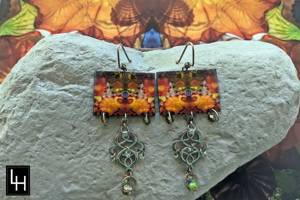 Mirror 1668 Bridge Of Glass 8_No. 3 Earrings