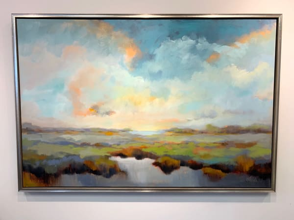 """""""Just After The Storm"""" 60"""" X 40"""" 