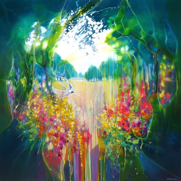 Print Of Creation Art | Gill Bustamante Artist