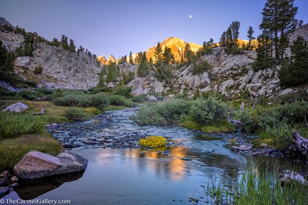 August Sunrise High Sierra Art | The Carmel Gallery