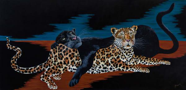 Cats   Original  Art | Mercedes Fine Art