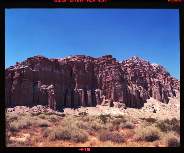 California Landscape Photography-Red Rock Canyon No. 1