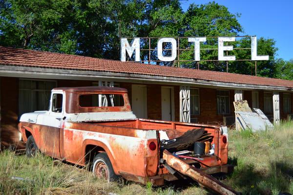 Paradise motel truck tucumcari route 66