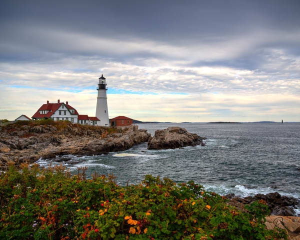 Portland Headlight #2 Photography Art | Lion's Gate Photography
