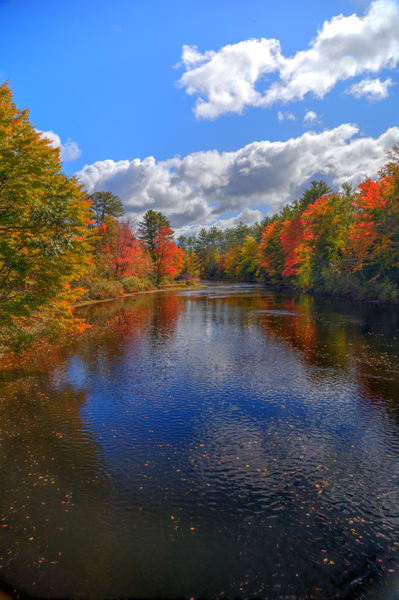 Autumn on the Ossipee River#2