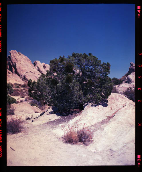 California Landscape Photography-Vasquez Rocks Nos. 3-4