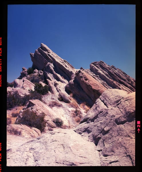 California Landscape Photography-Vasquez Rocks No. 2
