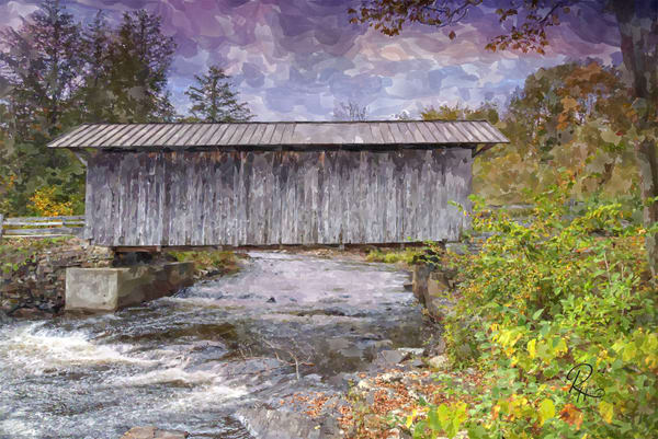 Salisbury Covered Bridge Photography Art | Lion's Gate Photography