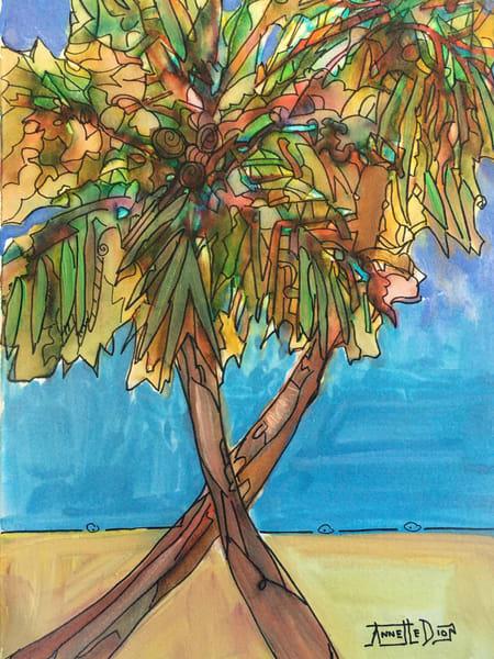 Two Palms Art | vibrant art studio, Art by Annette Dion McGowan
