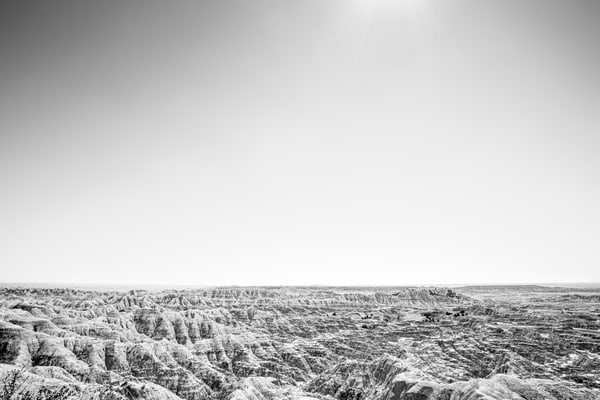 Black and white fine art landscapes by Nathan Larson.
