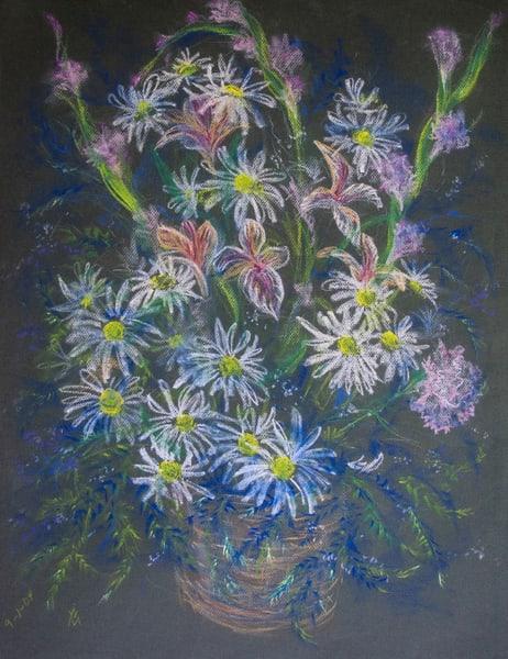 Floral, Pastel On Paper, 2004 Art | Roost Studios, Inc.