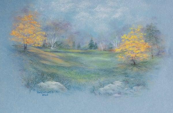Sugar Maples, Pastel, 2020 Art | Roost Studios, Inc.