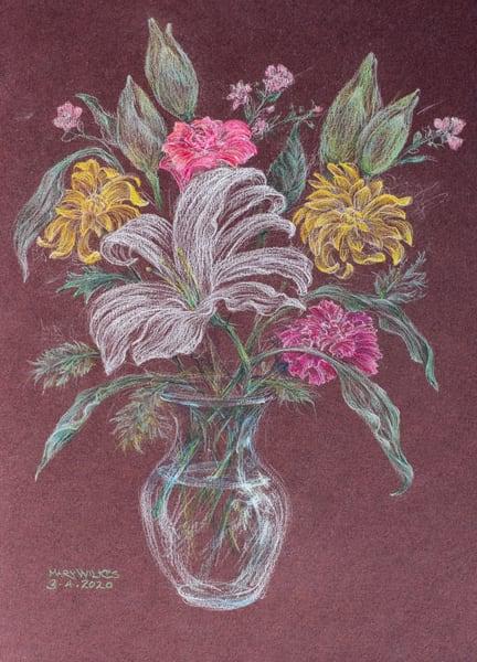 Floral, Pastel, March 2020 Art | Roost Studios, Inc.