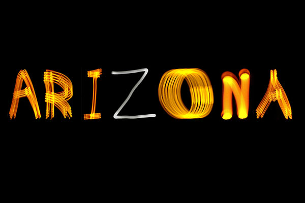 Arizona Light Painting Photography Art | David Louis Klein