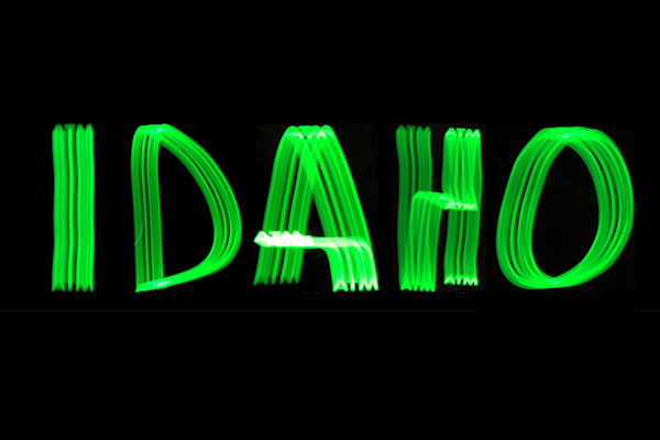 Idaho Light Painting Photography Art | David Louis Klein