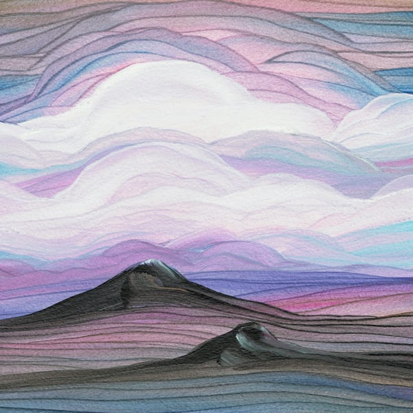 "6"" Square SW Vistas   Originals"