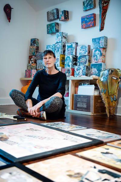 Artist Jan Auleta Art | New Orleans Art Center