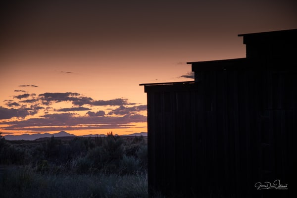 Cowboy Homested Sunset  1442 Photography Art | Swan Valley Photo