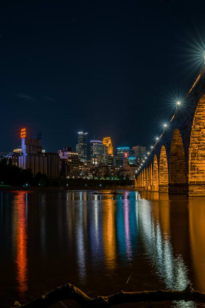 Minneapolis On The Mississippi River Photography Art | William Drew Photography