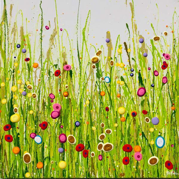 White Garden Small (No Resin) Art | Heitmann Art