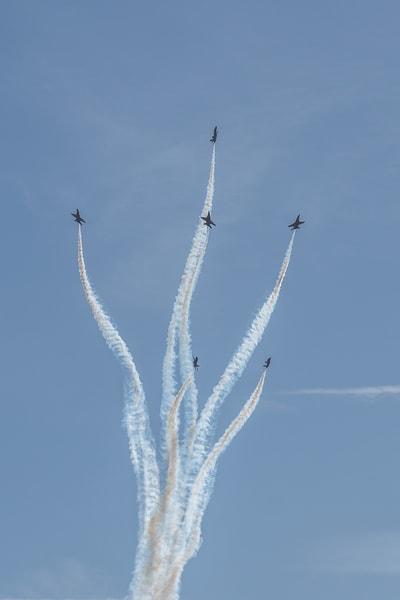 Blue Angels Fleur-de-lis formation