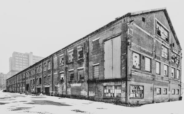 Derelict Factory in Bethlehem Pennsylvania