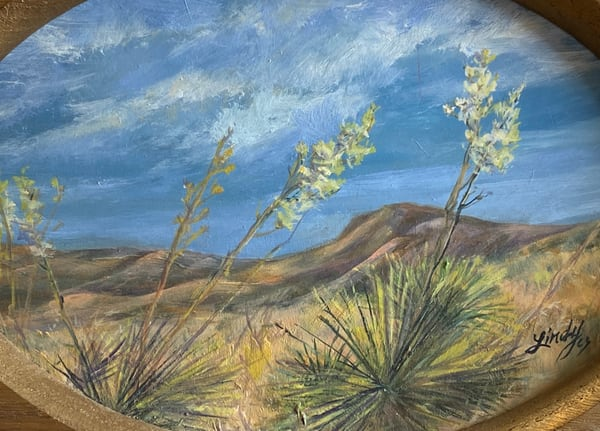 Lindy Cook Severns Art | Desert Dance, original oil