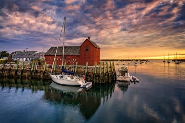 Rockport Harbor at Dawn | Shop Photography by Rick Berk
