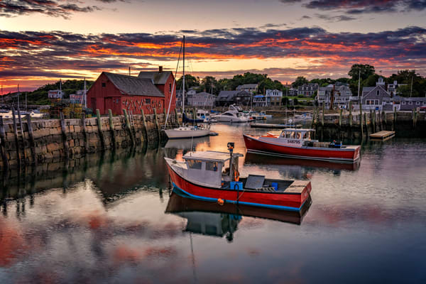 Sunrise in Rockport | Shop Photography by Rick Berk