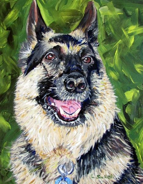 Cody The German Shephard Art | Linda Sacketti