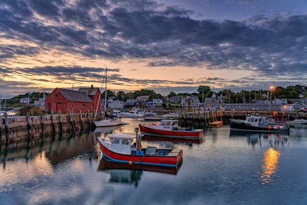 Dawn in the Harbor | Shop Photography by Rick Berk
