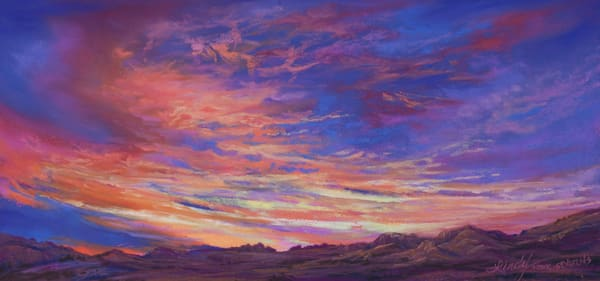 Lindy Cook Severns Art | Land of the Setting Sun, print