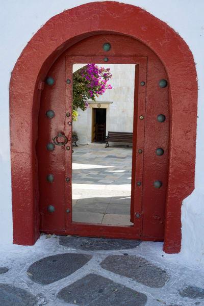 Red Doorway Art | karenihirsch