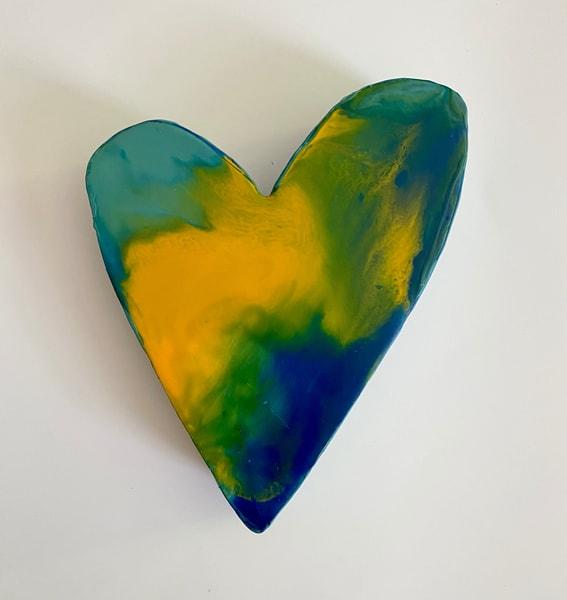Small Heart #3 Original Art | Jannet Haitas