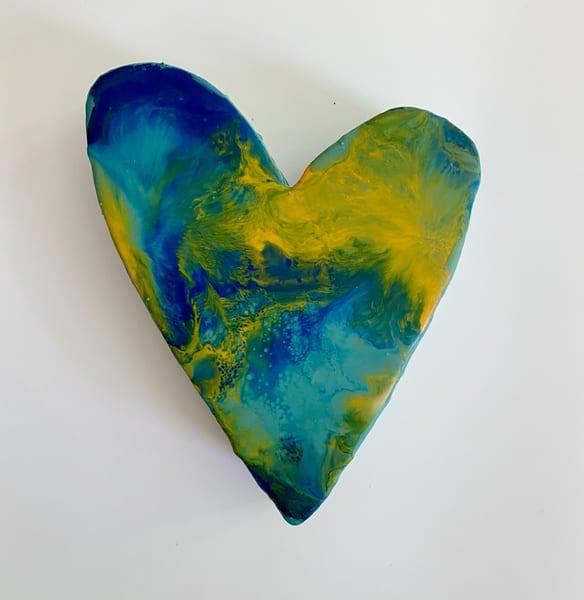 Small Heart #2 Original Art | Jannet Haitas