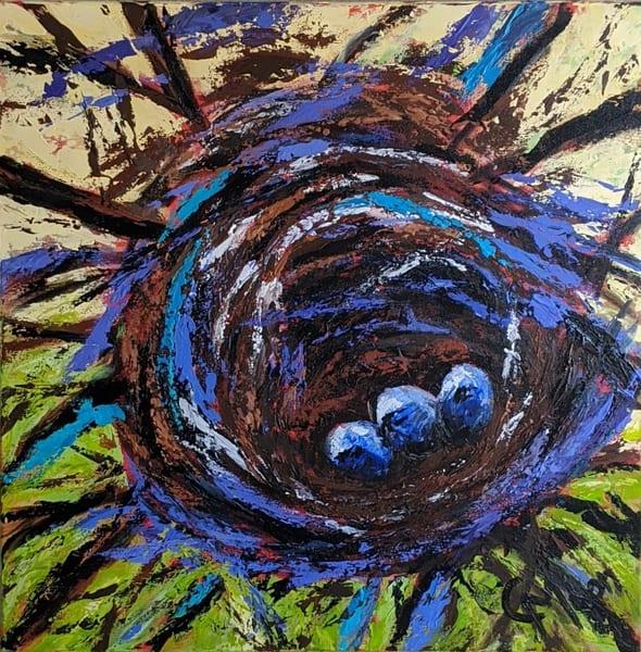 We Three  Art | Carol Moon Art