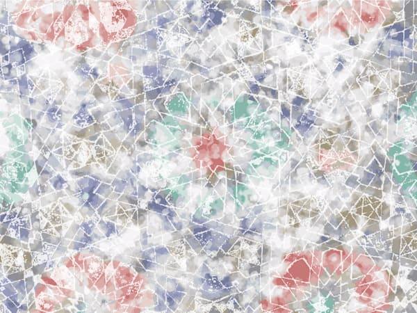 Bahia Palace Mosaic No. 5 Art | Elena Lipkowski Fine Arts, LLC
