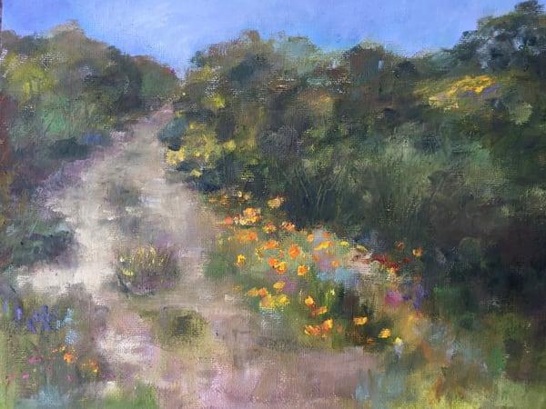 The Road Less Travled Art | vibrant art studio, Art by Annette Dion McGowan