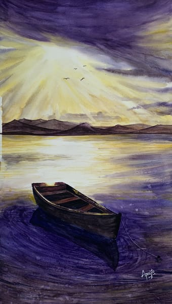 """See the light"" in watercolors by Aprajita Lal"