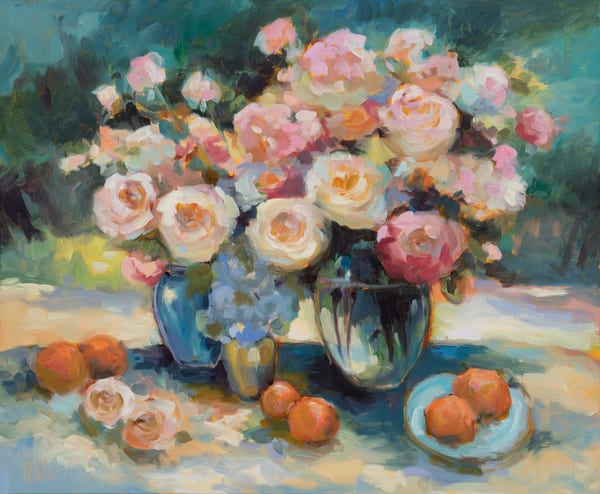 Nancy's  Rose Art | Odile Fine Art
