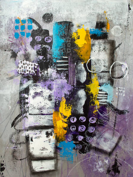 Out Of Darkness | Original Painting Art | Southern Heart Studio, LLC