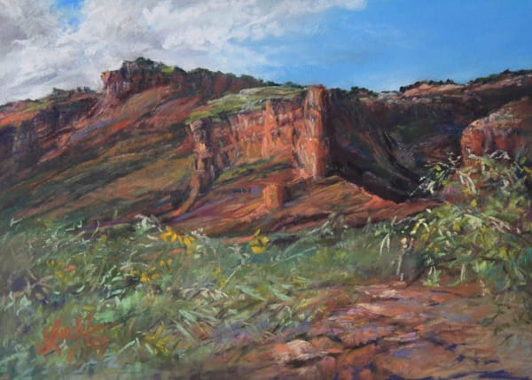 Lindy Cook Severns Art | Canyon Secrets, print