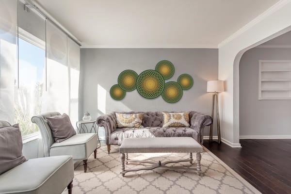 The Golden Lotus Garden   geometricphotographica