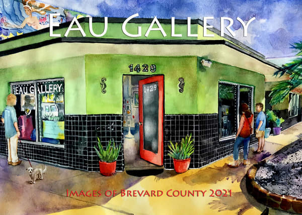 2021 Eau Gallery Images of Brevard County Calendar