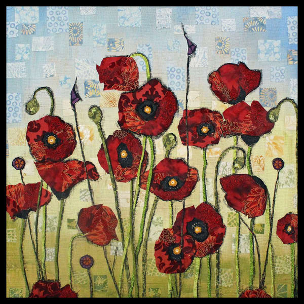 Red Poppies a classic still life by Sharon Tesser