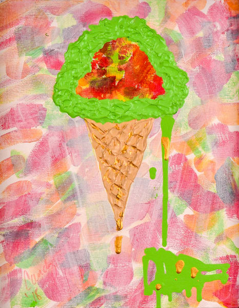 Sherbet Drip Art | Candy Country